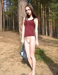 Outdoor nudity hot sexy naked teen girls